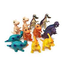 Boley 12 Piece Bucket Of Educational Dinosaur Figures