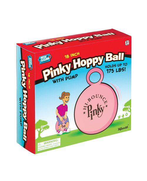 Toysmith 18In Pinky Hoppy Ball With Pump