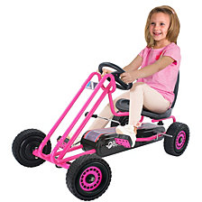 Hauck Lightning Ride On Pedal Go Kart Pink