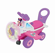 Disney Minnie Mouse Plane Light And Sound Activity Ride On