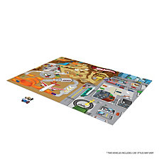 Tcg Toys Hot Wheels Jumbo Mega Mat Play Mat With 2 Bonus Vehicles