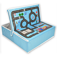 Fun2Give Pop It Up Garage With Road Playmat And Storage