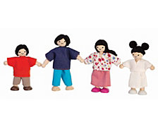 Plantoys Dollhouse Doll Family Asian
