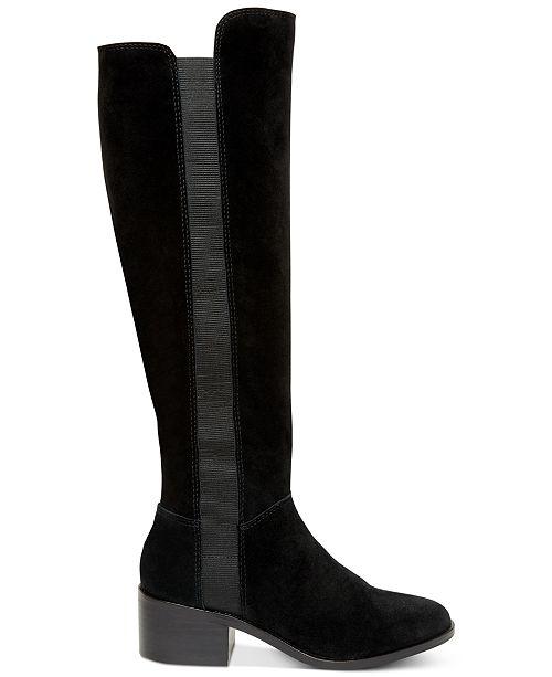 55cb6e910d5 Steve Madden Women s Giselle Riding Boots   Reviews - Boots - Shoes ...