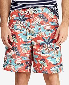 Polo Ralph Lauren Men's Big & Tall Kailua Swim Trunks