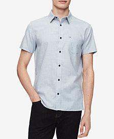 Calvin Klein Men's Set-On Placket Shirt