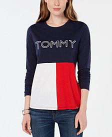 Tommy Hilfiger Sport Flag Logo Colorblock T-Shirt