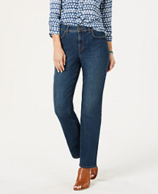 Style & Co Curvy-Fit Straight Leg Jeans, Created for Macy's
