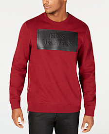 GUESS Mens Logan Coated Sweatshirt