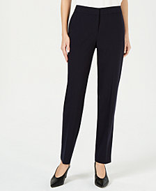 Bar III Straight-Leg Pants, Created for Macy's
