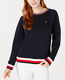 Tommy Hilfiger Printed Sweatshirt, Created for Macy's