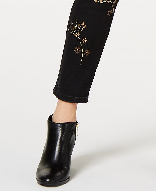 e54513317 ... Tommy Hilfiger Tribeca Embellished Skinny Jeans, Created for Macy's ...