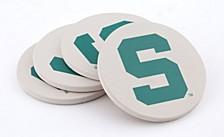 Michigan State University Coasters, Set of 4