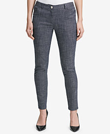 Tommy Hilfiger Tweed Slim-Fit Pants