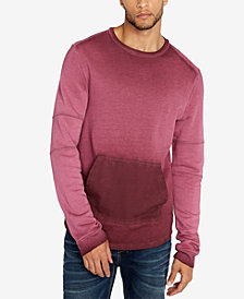 Buffalo David Bitton Men's Foround Regular-Fit Ombré French Terry Sweatshirt