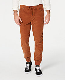 American Rag Men's Corduroy Jogger Pants, Created for Macy's