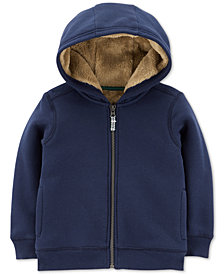 Carter's Toddler Boys Faux-Fur Lined Hoodie