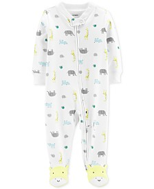 Carter's Baby Boys Animal-Print Coverall