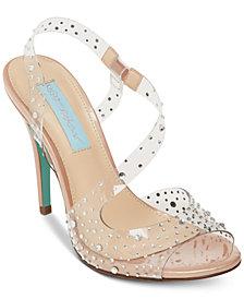 Blue by Betsey Johnson Fey Dress Sandals