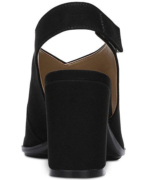 53504ba2c41 Naturalizer Preston Peep-Toe Dress Sandals   Reviews - Sandals ...