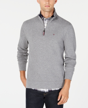 Tommy Hilfiger Men's Winston Quarter Zip Sweater, Created for Macy's