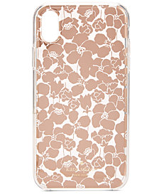 kate spade new york Floret Clear iPhone XS Case