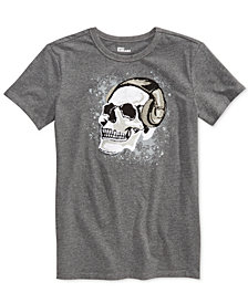 Epic Threads Big Boys Skull Music Graphic T-Shirt, Created for Macy's
