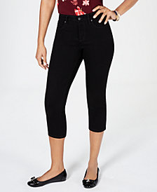 Charter Club Petite Cropped Jeans, Created for Macy's