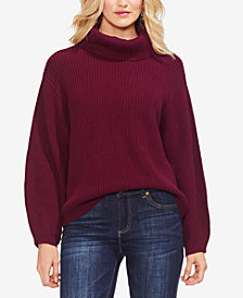Vince Camuto Cotton Turtleneck Sweater