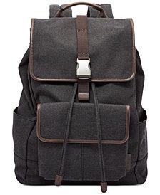 Fossil Men's Buckner Rucksack Backpack