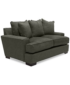 """Ainsley 75"""" Fabric Loveseat, Created for Macy's"""