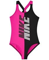 0675647a95b Nike Big Girls 1-Pc. Rift Crossback Swimsuit