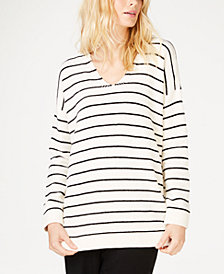 Eileen Fisher Chenille Striped Tunic