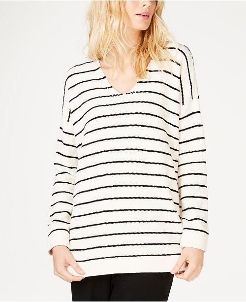 7b1aff1396b Eileen Fisher Chenille Striped Tunic  Eileen Fisher Chenille Striped Tunic  ...
