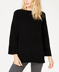 Eileen Fisher Chenille Round-Neck Sweater, Regular & Petite