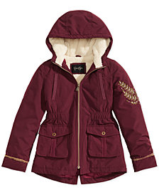 Jessica Simpson Embossed Hooded Jacket