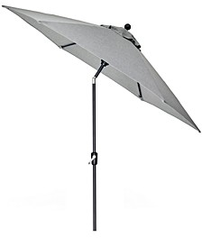 CLOSEOUT! Grove Hill II Outdoor 9' Umbrella With Sunbrella® Fabric, Created For Macy's