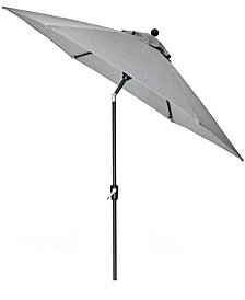 Grove Hill II Outdoor 9' Umbrella With Sunbrella® Fabric, Created For Macy's
