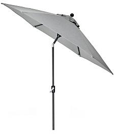 Grove Hill II Outdoor 9' Umbrella With Sunbrella® Fabric, Created For Macy's
