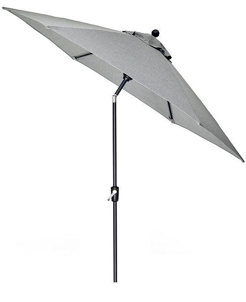 Furniture CLOSEOUT! Grove Hill II Outdoor 9' Umbrella With Sunbrella® Fabric, Created For Macy's
