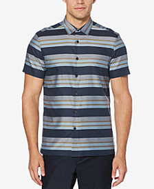 Perry Ellis Men's Regular-Fit Stripe Shirt