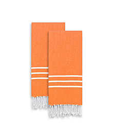 Linum Home Alara Turkish Pestemal Hand Towel Set