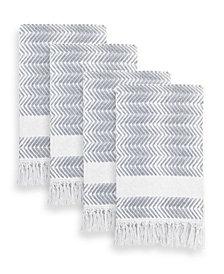 Linum Home Textiles Assos Hand Towels Set of 4