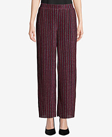 ECI Metallic Striped Pull-On Pants