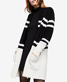 BCBGeneration Long-Sleeve Striped Cardigan