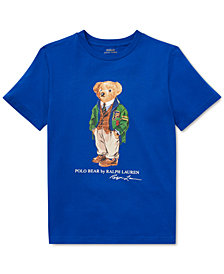 Polo Ralph Lauren Little Boys Polo Bear Cotton T-Shirt