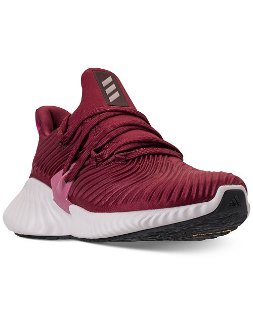 buy popular 34df9 de5b4 ... adidas Womens AlphaBounce Instinct Running Sneakers from Finish ...