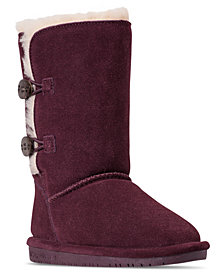 Bearpaw Girls' Lori Winter Boots from Finish Line