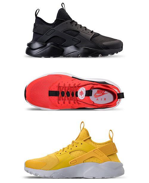 quality design dcd09 640a5 Nike Men s Air Huarache Run Ultra Running Sneakers from Finish Line