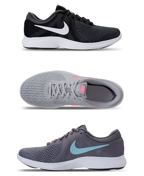 15652cf55cc5 Nike Women s Revolution 4 Running Sneakers from Finish Line ...